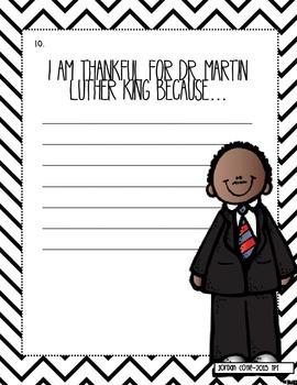 Martin Luther King Jr. -NO PREP Math Practice