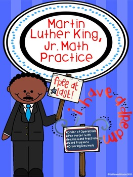 Martin Luther King, Jr. Math Practice