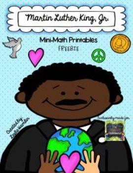 Martin Luther King Jr. Math Printable Freebie!
