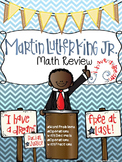 Martin Luther King, Jr. Math Review