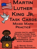 Martin Luther King Jr. Math Task Cards! (set of 20)  Mixed Math Practice
