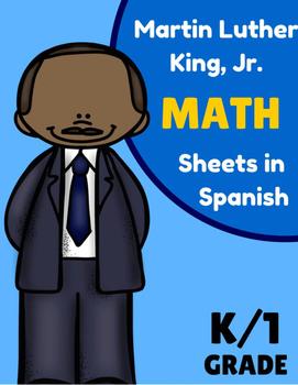 Martin Luther King Jr. Math Worksheets in Spanish) Matematicas- dia de MLK