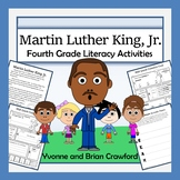 Martin Luther King, Jr. Math and Literacy Activities Fourth Grade Common Core