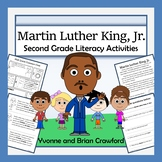 Martin Luther King, Jr. Math and Literacy Activities Second Grade Common Core