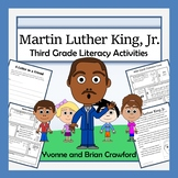 Martin Luther King, Jr. Math and Literacy Activities Third Grade Common Core