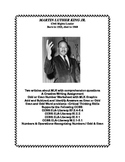 Martin Luther King Jr. Math and Reading Worksheets Grades 2-3