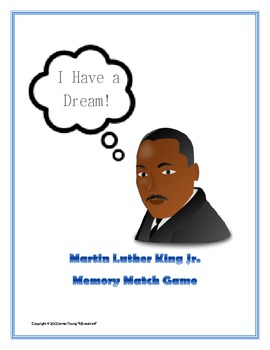 Martin Luther King Jr. - Memory Match Game