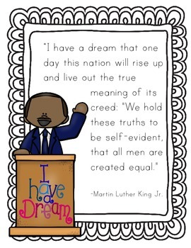 Martin Luther King Jr Quote Writing
