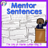 Martin Luther King Jr. Activity Mentor Sentences and Semicolon Unit