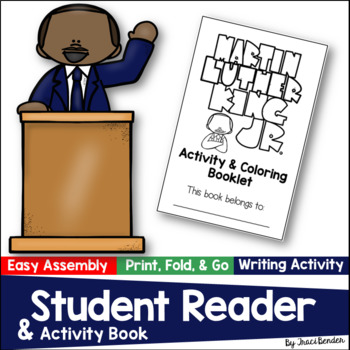 Martin Luther King Jr. Mini Activity & Coloring Booklet