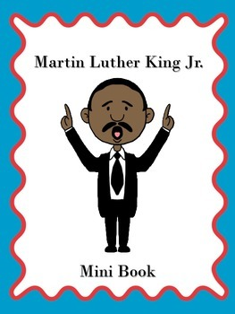 Martin Luther King Jr. Mini Book