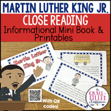 Martin Luther King Jr. Close Reading Mini-Book