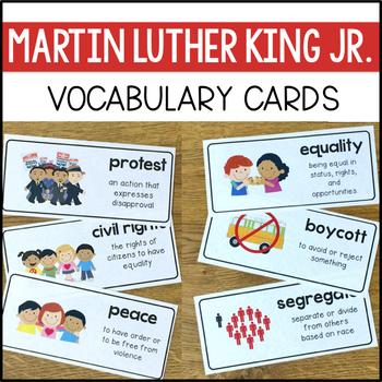 Martin Luther King Jr. Close Reading Mini-Book