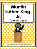 First Grade Mini-Book: Martin Luther King Jr.