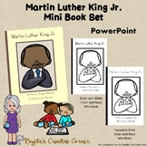 Martin Luther King Jr. Mini Book (Reading, Coloring, Word Tracing)