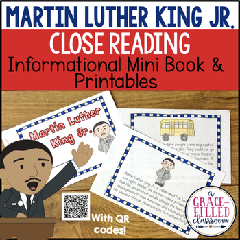 Martin Luther King Jr. Mini-Book