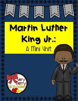 Martin Luther King Jr Mini Unit