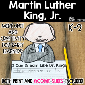 Martin Luther King, Jr. Mini Unit and Craftivity
