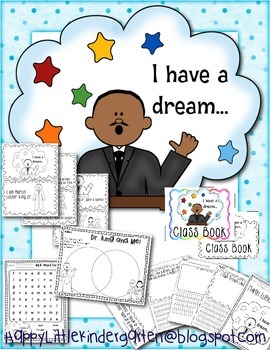 Martin Luther King Jr. Mini Unit with Emergent Reader