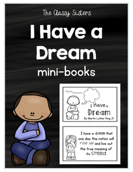 Martin Luther King Jr. (I Have a Dream Mini-book)