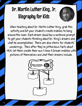 Martin Luther King Jr Mobile & Video with QR Code