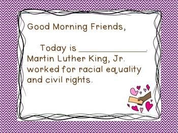 Martin Luther King, Jr. - Morning Messages