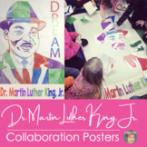 Martin Luther King Jr. Collaborative Poster - Great Black History Month Activity