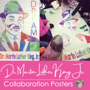 Martin Luther King Jr. Collaborative Poster | Fun Black ...