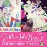 Dr. Martin Luther King Jr. Collaborative Poster    Black H