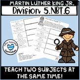 Martin Luther King Jr 5th Grade Math Division With Whole Numbers Math