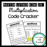 Martin Luther King, Jr. Multiplication Code Cracker