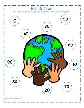 Martin Luther King, Jr. Multiplication Roll and Cover