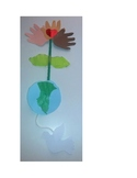 Martin Luther King Jr. Multiracial Peace Flower