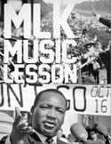 Yes, I DID just turn Martin Luther King Jr. Into a lesson in music AND history.