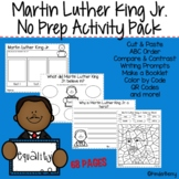 Martin Luther King Jr. NO Prep Activity Bundle   Distance Learning