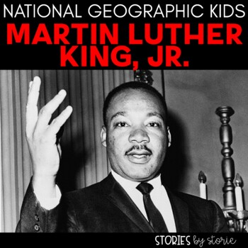 Martin Luther King, Jr. (National Geographic Kids Book Companion)