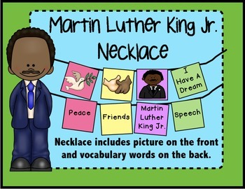 Martin Luther King Jr. Necklace