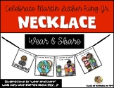 Martin Luther King Jr. Necklace MLK Jr. Day Craft for Social Studies