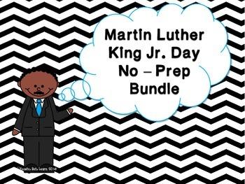 Martin Luther King Jr. No-Prep Activities