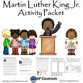 Martin Luther King Jr. No Prep Activity Packet and Worksheets