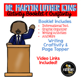 Martin Luther King Activity Book