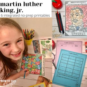Martin Luther King, Jr. No Prep Printables