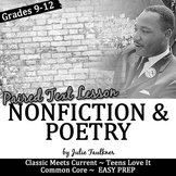 Martin Luther King Activities, Nonfiction Lesson for Black History Month