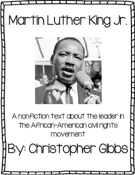 Martin Luther King Jr. Nonfiction / Informational Text