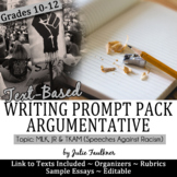Martin Luther King Activities Argumentative Essay Writing Prompt, Black History