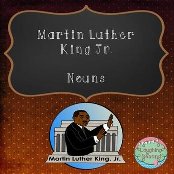 Martin Luther King Jr. Nouns Worksheet