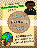 MLK PRIMARY Pack ~ w/ daily reading plans & activities {Co