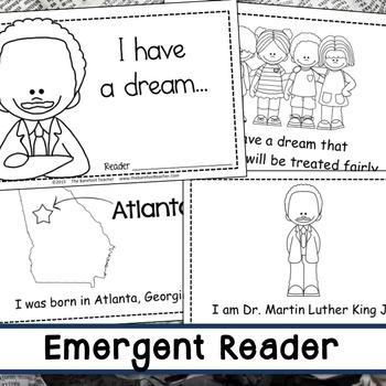 Martin Luther King Jr Math & Literacy Activities