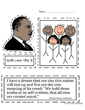 Martin Luther King, Jr. Pack (includes biography)