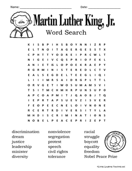 Martin Luther King, Jr. Packet